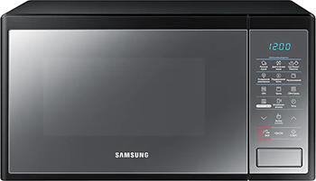 Микроволновая печь - СВЧ Samsung MG 23 J 5133 AM/BW микроволновая печь samsung ms23h3115qr bw