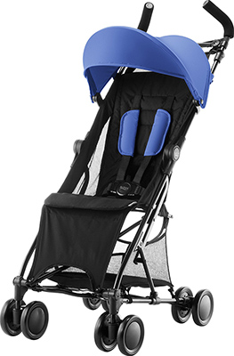 Коляска Britax Roemer Holiday Ocean Blue 2000027395 коляска прогулочная britax holiday cosmos black