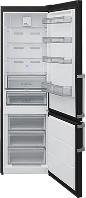 Двухкамерный холодильник Jacky's JR FHB 2000 черный