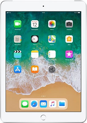 Планшет Apple iPad (2018) 32 Gb Wi-Fi + Cellular silver (MR6P2RU/A) планшет apple ipad 2018 32 gb wi fi cellular space grey mr6n2ru a