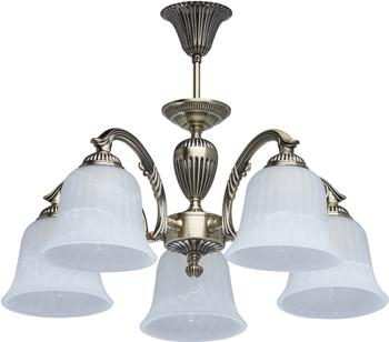 Люстра подвесная MW-light Ариадна 450014605 5*60 W E 27 220 V подвесная люстра mw light ариадна 450016305