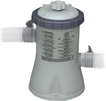 Картриджный фильтр-насос Intex Krystal Clear для бассейнов не более 305л картридж H 28602 песочный фильтр насос intex 26644 krystal clear 4 5м3 ч резервуар для песка 12кг