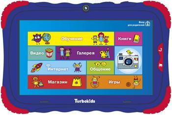 Планшетный компьютер Turbo ''TurboKids S5'' синий РТ00020506