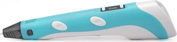 3D ручка UNID SPIDER PEN LITE с ЖК дисплеем голубая 6100 B abs 1 75 3d 395m