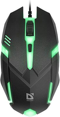 Проводная оптическая мышь Defender Defender Hit MB-550 52550