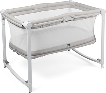Детская кроватка Chicco Zip&Go Glacial