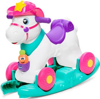 Игрушка-каталка Chicco ''Лошадка Miss Baby Rodeo'' цена