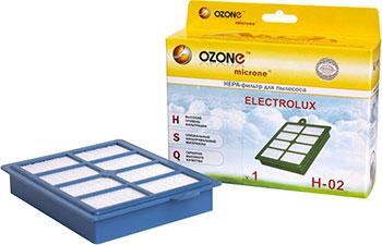 HEPA-фильтр Ozone H-02 целлюлозный для пылесоса ozone h 15 нера фильтр для пылесоса lg