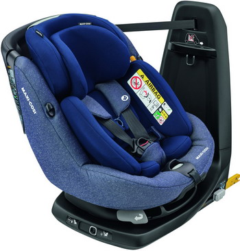 Автокресло Maxi-Cosi Axiss Fix Plus Sparkling Blue (45 см-105 см) 8025737110 автокресло maxi cosi maxi cosi автокресло axiss fix river blue