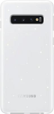 Чехол (клип-кейс) Samsung S 10 (G 973) LED-Cover white EF-KG 973 CWEGRU