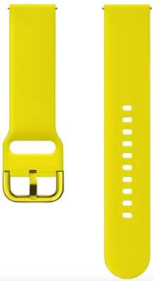 Ремешок Samsung Galaxy Watch active yellow M ET-SFR50MYEGRU цена