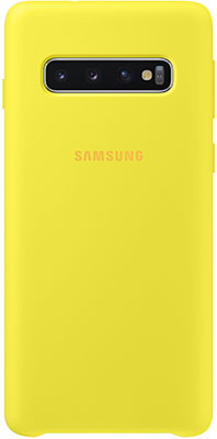 Чехол (клип-кейс) Samsung S 10 (G 973) SiliconeCover yellow EF-PG 973 TYEGRU