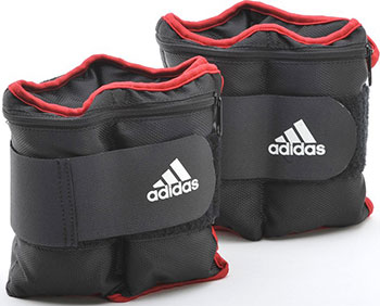 Утяжелители на запястья/лодыжки Adidas (2шт х 1кг) (пара) ADWT-12229 цена и фото