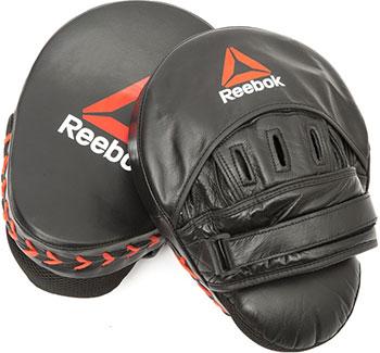 Лапы для бокса Reebok (кожаные) Combat RSCB-11250