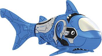 В виде животного(ых) Robofish 2501-6 РобоРыбка Акула (голубая) игрушка для ванны robofish роборыбка клоун цвет оранжевый белый