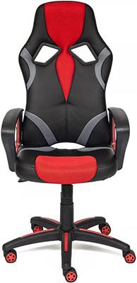 Кресло Tetchair RUNNER ткань черный/красный 2603/tw08/TW-12