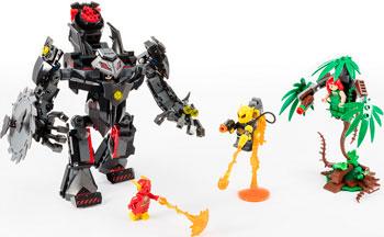 Конструктор Lego Робот Бэтмена против робота Ядовитого Плюща 76117