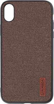 Чехол (клип-кейс) Lyambda REGUL для iPhone XR (LA06-RG-XR-BR) Brown цена