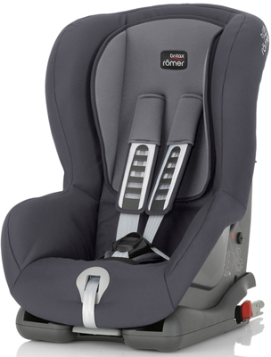 Автокресло Britax Roemer Duo Plus Storm Grey Trendline 2000025667 автокресло детское britax roemer first class plus black marble highline от 0 до 18 кг 2000022955 черный