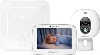 Видеоняня Angelcare AC527 белая с беспроводным монитором движения 5 LCD дисплей