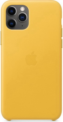 Чехол (клип-кейс) Apple iPhone 11 Pro Leather Case - Meyer Lemon MWYA2ZM/A