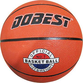 Мяч DoBest RB7-0886 р.7 резина оранж. мяч для н т dobest ba 02 6шт уп