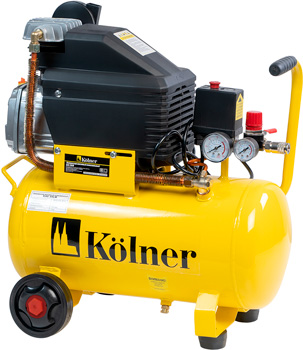 Компрессор Kolner масляный коаксиальный KAC 24LM колеса kolner kolner kac 24 l компрессор масляный коаксиальный 1 5 квт 24 л 206 л мин 2850об мин 8 атм