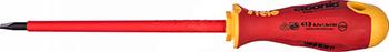 Отвертка диэлектрическая Felo Ergonic плоская шлицевая 6 5X1 2X150 41306590 отвертка felo ergonic плоская шлицевая 5 5x1 0x150 40055510