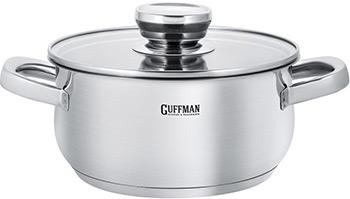 Кастрюля Guffman Maestro T02-01720R 20 см 2 4 л кастрюля magnifique со стеклянной крышкой 2 4 л 20 см t02 02320r guffman