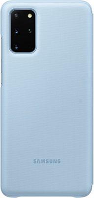Чехол (клип-кейс) Samsung S20plus (G985) LED-View l.blue EF-NG985PLEGRU аксессуар чехол samsung galaxy note 8 led view cover gold ef nn950pfegru