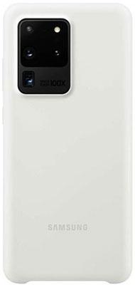 цена на Чехол для смартфона Samsung S20 Ultra (G988) SiliconeCover white EF-PG988TWEGRU