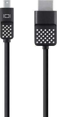 Фото - Кабель Belkin DisplayPort-Mini папа/Thunderbolt папа 1 8м черный (F2CD080bt06) кабель питания для ноутбуков аудио видео техники gembird pc 184 2 1 8м 1 8м