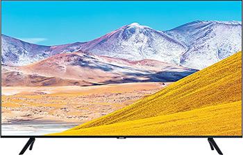 Фото - Crystal UHD телевизор Samsung UE-43TU8000UX faux crystal rivets alloy geometric earrings