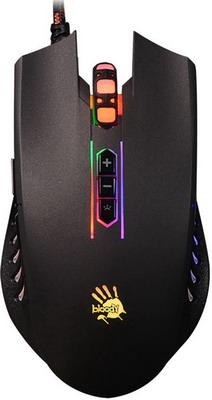 Мышь игровая проводная A4Tech Bloody Q81 черный мышь игровая беспроводная a4tech bloody r7 r70 черный