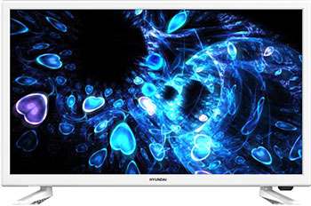 Фото - LED телевизор Hyundai H-LED24ES5020 белый полотно для ленточной пилы зубр зпл 750 305 l 2234мм h 10 0мм шаг зуба 2мм 12tpi материал углерод сталь 65г