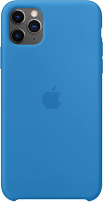 Чехол (клип-кейс) Apple для iPhone 11 Pro Max Silicone Case - Surf Blue MY1J2ZM/A