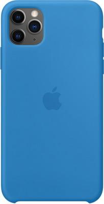 Чехол (клип-кейс) Apple для iPhone 11 Pro Max Silicone Case - Surf Blue MY1J2ZM/A чехол g case для apple iphone 11 pro max carbon dark blue gg 1165