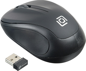 Фото - Беспроводная мышь Oklick 665MW черный мышь oklick 665mw оптическая черная