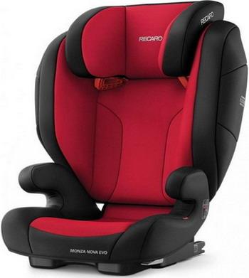 Автокресло Recaro Monza Nova Evo Seatfix гр. 2/3 расцветка Racing Red автокресло recaro monza nova evo seatfix гр 2 3 расцветка racing red