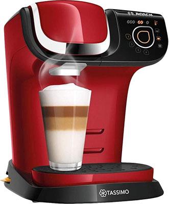 Кофемашина капсульная Bosch TAS6503 Красный кофемашина капсульная bosch tas6003