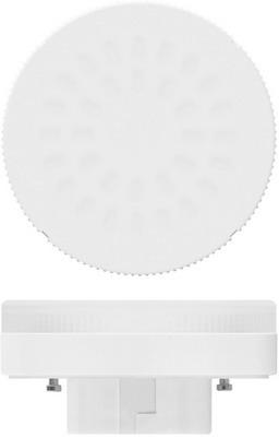 Лампа Uniel LED-GX53-8W/NW/GX53/FR PLZ01WH матовая белый свет 001671