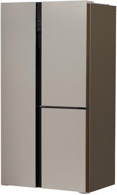 Холодильник Side by Side Hyundai CS5073FV шампань