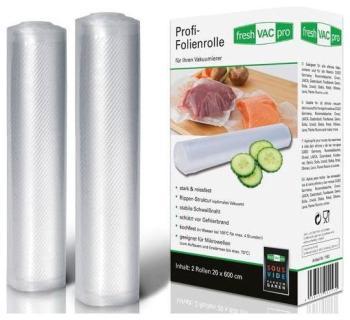 Рулоны для вакуумной упаковки Ellrona FreshVACpro 20*600