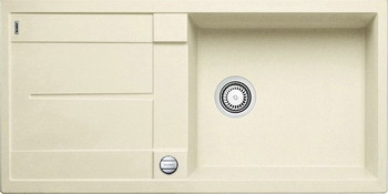 Кухонная мойка Blanco METRA XL 6 S SILGRANIT жасмин кухонная мойка blanco axia iii xl 6 s infino silgranit жасмин столик ясень 523505