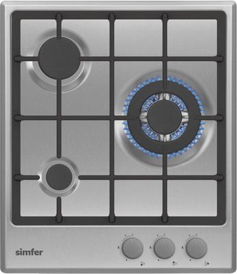 Встраиваемая газовая варочная панель Simfer H 45 V 35 M 512 встраиваемая газовая варочная панель simfer h 70 n 51 s 512