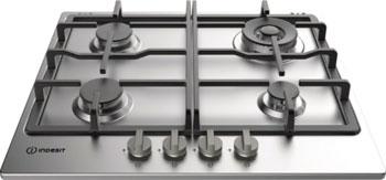 Встраиваемая газовая варочная панель Indesit THP 641 W/IX/I