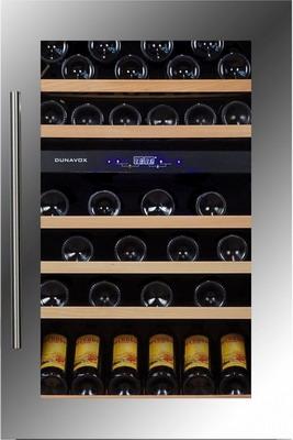 Встраиваемый винный шкаф Dunavox DX 57.146 DSK dunavox dx 28 88k