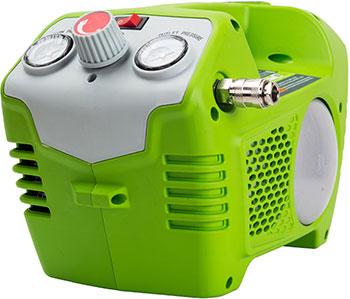 Компрессор Greenworks 40 V G-max G 40 AC без аккумулятора и зарядного устройства 4100802