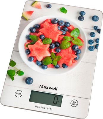 Кухонные весы Maxwell MW-1478 весы кухонные maxwell mw 1476 w белый рисунок