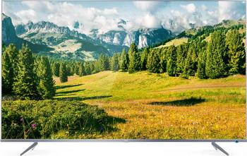 4K (UHD) телевизор TCL L 43 P6US Metal серебристый